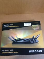 NETGEAR Nighthawk X6 Tri-band AC3200 WiFi Router