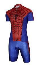 Men s Superhero Costume Short Sleeve T-Shirt Shorts Suit Pad Bike Cycling  Jersey cddd2ab54