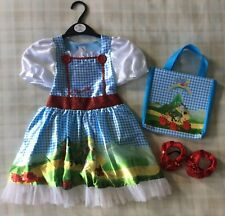 Wizard Of Oz ~ Dorothy Fancy Dress Costume/Dressing Up Outfit ~ Girls 3-4 Years