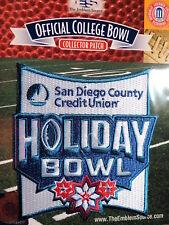 NCAA College Football Holiday Bowl 2017/18 Patch Michigan State Washington State