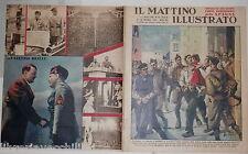 1937 Guerra di Spagna Madrid Mostra fascista a Valle Giulia Mussolini Germania