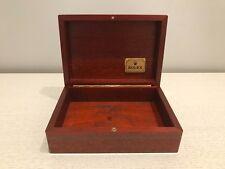Estuche ROLEX DAYTONA Case - Vintage Wood - Relojes Watches Montres