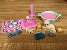 Vintage Littlest Pet Shop Collection Mommy and Baby Kitties *Complete*