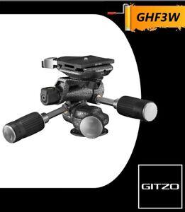 Gitzo GHF3W 3-Way Fluid Head Mfr # GHF3W