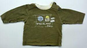 Original Baby Langarm Shirt von Timberland Größe 1M 56 newborn