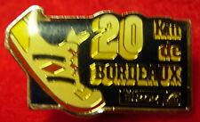 Bordeaux 20km - French Hat Lapel Pin HP5116