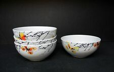 "HOME CAYLEY BUTTERFLY set of 4 - 6"" CEREAL BOWLS"