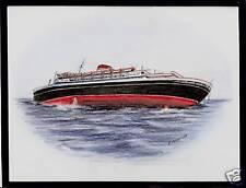Original Art Work. t/n Andrea Doria.Ocean Liner.Italia. Sinking (2)