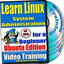 Learn Linux System Administration, 4-Disc Video Training Ubuntu Set