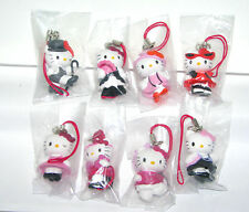 Tomy Sanrio Hello kitty Fashion Danglers strap gashapon figure (full set 8 pcs)