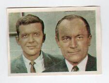 figurina TV COLOR ED. SPAGNOLA NUMERO 182 ROBERT REED - E.G. MARSHALL