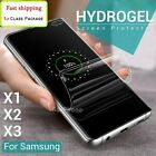 For OnePlus 9 8T 8 Pro 5G 7 7T 6 5 TPU Hydrogel Film Full Cover Screen Protector