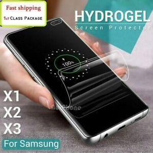 For Motorola G9 G7 PLUS G8 Power Z4 EDGE S Hydrogel Full Cover Screen Protector