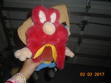 "Nwt 1997 1998 Large Warner Bros Yosemite Sam Plush Hanna Barbera 18"""