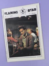 Flaming Star - Elvis Presley Fan Club of Norway Fanzine Mag Issue One 1977