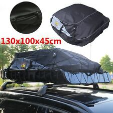 Universal Waterproof Car Roof Top Rack Bag Travel Carrier Cargo Luggage Storage