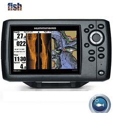 Humminbird Helix 5 SI/GPS Combo Features DualBeam PLUS Sonar, GPS Chartplotting