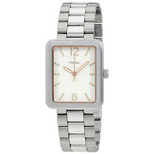 Fossil Atwater Silver Dial Ladies Stainless Steel Watch ES4157