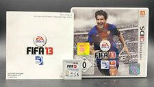 """NINTENDO 3DS SPIEL """" FIFA 13 2013 """" KOMPLETT"""