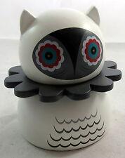 Kidrobot Misko Nathan Jurevicius White with Gray Collar Wooden Figure