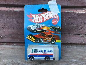VTG Mattel 1981 Hot Wheels Letter Getter U.S Mail Diecast Truck MOC