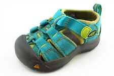 KEEN Toddler Girls 4 Medium Blue Sandals Fabric