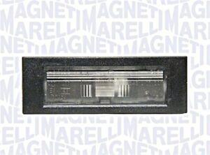 Licence Plate Light Rear Fits FIAT 500L Hatchback 2012-