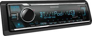 Kenwood KMM-BT328U In-Dash Single DIN AUX USB Bluetooth Digital Media Receiver