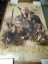 "Lord of the Rings Legolas 22x35"" Original Poster P12"