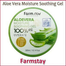 [Farm Stay] Aloe Vera Moisture Soothing Gel 100% 300ml Korea Cosmetic