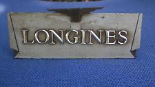 Vintage Longines Advertising Metal Display
