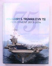 USS Harry S. Truman (CVN-75) 2013 2014 Mediterranean Deployment Cruise Book