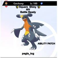 ✨ Shiny Garchomp ✨ Pokemon Sword and Shield Perfect 6IV Battle ready