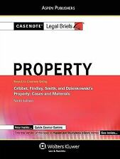 Property : Keyed to Cribbet, Johnson, Findley, and Smith 2008 by Casenotes...