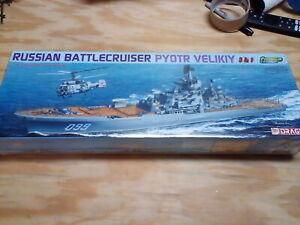 Dragon 1/700 Russian Battlecruiser Pyotr Velikiy 3in1 Premium Edition Sea Power
