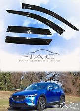 For Mazda CX-3 15-18 Window Visor Vent Sun Shade Rain Guard Door Visor
