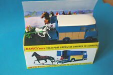 Renault Saviem SB2 Van cheval sulky Dinky Toys 571 Atlas Neuf Transport Chevaux