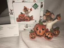 """Charming Tails """"Smiles Come In All Sizes"""" Dean Griff Nib Halloween 🎃 Pumpkins"""