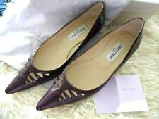 Jimmy Choo purple patent leather court shoes size 37.5