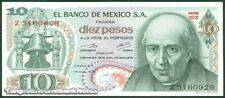 TWN - MEXICO 63h4 - 10 Pesos 15/5/1975 UNC Serie 1DZ