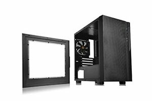 Thermaltake Versa H18 Window Micro Case, Black, CA-1J4-00S1WN-00