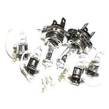 Peugeot 205 MK2 H3 H4 H3 501 55w Clear Xenon High/Low/Fog/Side Headlight Bulbs
