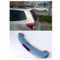Unpainted ABS Roof Spoiler Rear Wing W/LED for Subaru Forester S3 Series 2008-12