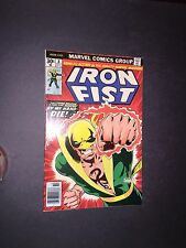 Iron Fist 8 Raw 9.4 Bronze Age Key Marvel Comic I.G.K.C. L@@K