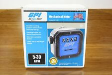 """GPI 1-1/2"""" NPT Mechanical Fuel Gas Gasoline Diesel Pump Meter 5-30 GPM"""