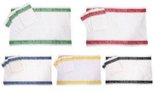 Glass Cloths Tea Towels Pack of Four Linen Union