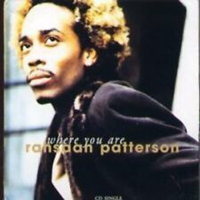 Rahsaan Patterson Where you are  [Maxi-CD]