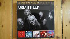 Uriah Heep - 5 Original Albums 5 CD Box-Set