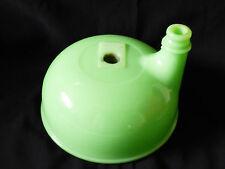 VTG Sunbeam Automatic Mixmaster Jadeite green glass Juicer Bowl Attachment