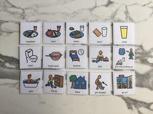 PECS/Boardmaker Starter Card Set (15 cards) for autism/ASD/ADHD/SEN/Aspergers